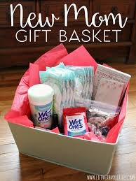 new gift basket with my littles