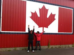 Giant Canadian Flag 32 Things To Love About Canada We Asked You Answered The Globe