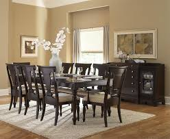 Espresso Dining Room Furniture Casual Dining Room With Inglewood 5 Pieces Espresso Dining Room