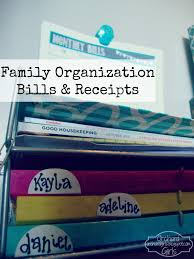 family organization orchard girls monthly bills organization station free printable