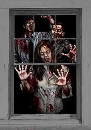 Zombie Decorations Wowindow Zombie Decorations Window Scene Posters 00033 Read