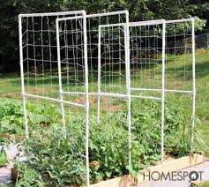 how to make a trellis for cucumbers diy trellis