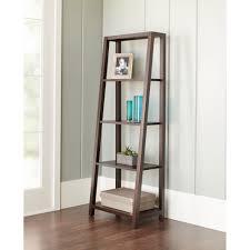 coaster 4 drawer ladder style bookcase ideas of coaster 4 drawer ladder style bookcase walmart also trestle