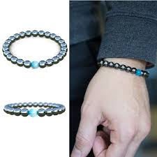 mens bracelet stones images New products iron ore beads with opal stone natural stone bracelet jpg
