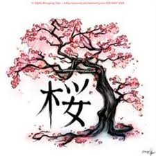 japanese cherry blossom tree drawing best images collections hd