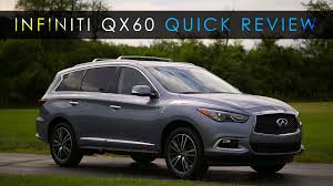 nissan infiniti qx60 quick review 2017 infiniti qx60 plain and plush youtube