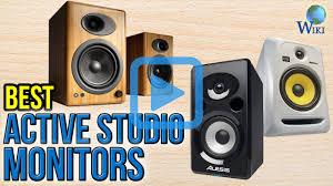 top ten best home theater system top 10 active studio monitors of 2017 video review