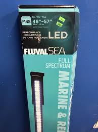 fluval led light 48 fluval 48 marine reef full spectrum led light with nighttime blue