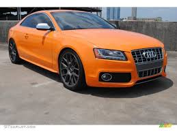 audi orange color 2011 glut orange audi s5 4 2 fsi quattro coupe 81288459