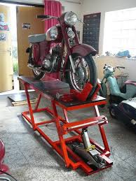 Motorcycle Bench Lift Table Lift For Home Garage Homemade Cheap Motorcycle Assembly