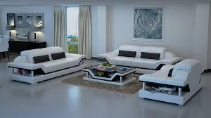 ensemble canapé 3 2 canapés 3 2 1 places en cuir design zephir 2 239 00