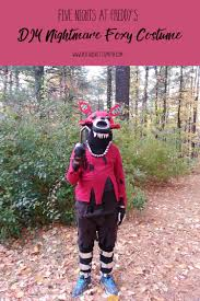 foxy costume nightmare foxy costume fnaf nightmare costume ruth lovettsmith