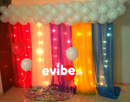 how to make party decorations at home simple balloon decoration ideas at home simple birthday party