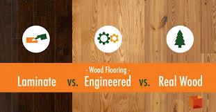 laminate flooring vs engineered wood flooring solid vs
