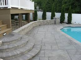 Patio Concrete Designs Decorative Concrete Ideas Cool Home Design Photo And Decorative
