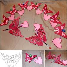 creative ideas diy pretty kirigami butterfly postcard from