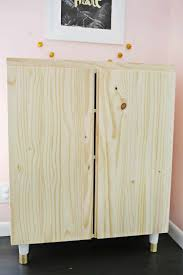 best screws for attaching cabinets together ikea ivar cabinet hack turned into a bar cabinet a beautiful mess