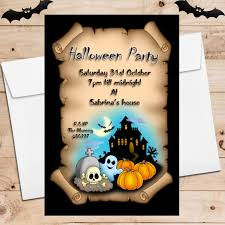 halloween party invitations u2014 crafthubs