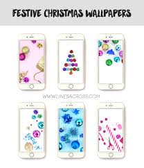 and festive iphone wallpapers lines across