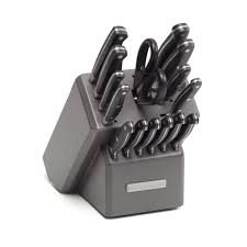 kitchen aid knives kitchen chef decoration with 14 pieces kitchenaid cutlery set on