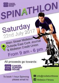 spinning cycling house spinathon for cork arc cancer support house in midleton set for 22