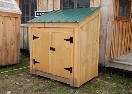 Free Wooden Garbage Bin Plans by Garbage Bin Storage Wooden Garbage Bin Jamaica Cottage Shop