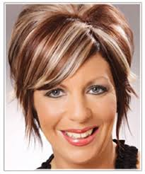 hair color highlight ideas for older women white highlights on dark brown hair styles hairstyles short