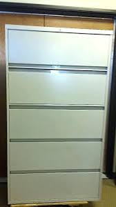 Hon 42 Lateral File Cabinet Hon 600 Series 5 Drawer Lateral File Cabinet 42 Lateral File