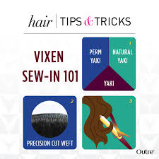 vixen sew in on short hair perfect hair for a vixen sew in outretalks