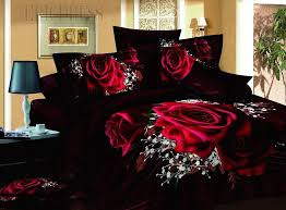Roses Bedding Sets 100 Cotton Luxury 3d Bedding Sets
