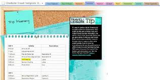 travel made easy with microsoft onenote travel template giveaway