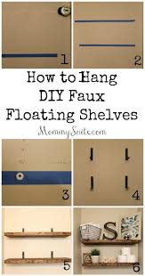 Floating Shelves For Bathroom by Diy Faux Floating Shelves Shelves Room And House