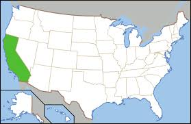 usa california map sobering fact all america s households could fit in california