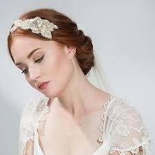 bridal hair accesories buy bridal pearl band hair accessory emmy london