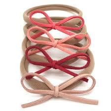 dainty suede bow headbands nylon headband nylon headbands dainty