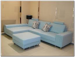 teal blue leather sofa light blue couch light blue sofa front view minus the blue chair