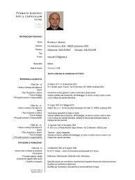 scarica curriculum vitae europeo da compilare gratis pdf vista previa de documento curriculum europeo 3 pdf p jpg