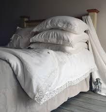 provincial living natural softened linen duvet cover