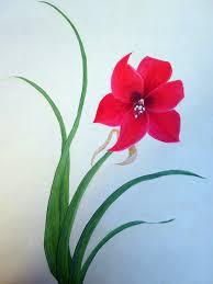 simple acrylic flower painting wesharepics easy ideas flowers