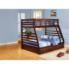 Loft White Laminate Flooring Brown Wooden Loft Bed With Blue Striped Bedding Bed And Brown