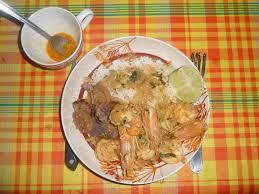 cuisine guyanaise guyane une recette crevettes au lait de coco et