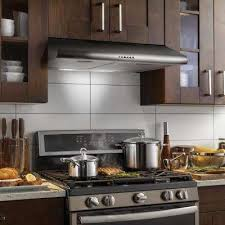 stainless steel under cabinet range hood inspiring design ideas 30 under cabinet range hood hoods the home