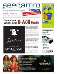 G Stige Hochglanz K Hen Seedamm News August 15 By Seedamm Verlag Issuu