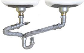 Snappy Trap   Drain Kit For Double Kitchen Sinks  Amazoncom - Kitchen sink plumbing fittings