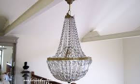 Basket Chandeliers Small Antique Crystal Chandeliers For Kitchens U2014 Home Ideas