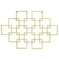 Three Hands Metal Gold Wall Decor The Home Depot