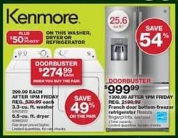 black friday french door refrigerator sears black friday ad 2017 14 freebies on sale this year