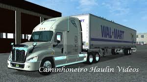 walmart monster jam trucks freightliner walmart trucking ats mods american truck simulator