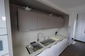 Corian Melbourne Corian Worktop In Clay Worktop Wraps Right Around Alcove