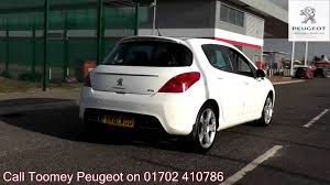 peugeot in sale 2011 peugeot 308 allure 2l bianca white ek61wod for sale at toomey